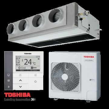 ŠILUMOS SIURBLYS ORAS/ORAS - KONDICIONIERIUS TOSHIBA ORTAKINIS (KANALINIS) SUPER DIGITAL INVERTER SPLIT 220V RAV-SM804ATP/SM807CTP-E (7,1/8,0 kW)